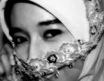 Hijab In Black and White by konim