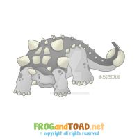 Ankylosaurus FROGandTOAD by FROG-and-TOAD