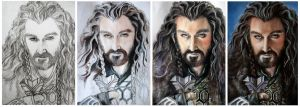 WIP Thorin Oakenshield - Richard Armitage by MeduZZa13