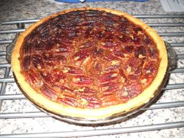 Pecan Tart by Bisected8