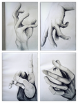 Some hands by LarissaAV