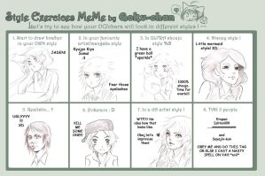 Style meme by ElfenCeres