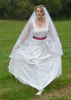 bride on a field 13 by indeed-stock