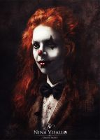 Bloody Clown by Nina-Visallo