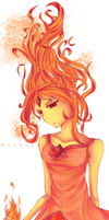 Flame princess by MaikochanRiot