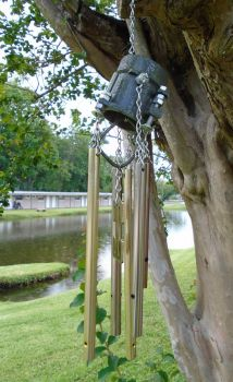 Scrap Windchimes III by lizking10152011