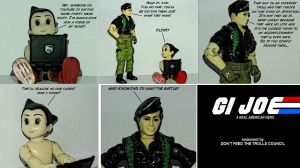 GI Joe on internet trolls by Dragonrider1227