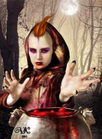 Halloween spell by vampirekingdom