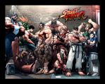 Street Fighter by doocell