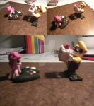 WARIO, A CAKE, AND A PIE by ReyJJJ