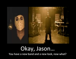 Jason gave himself a makeover by iheartslashers