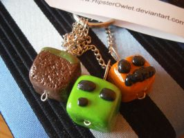 Minecraft Key Pendant 1 by HipsterOwlet