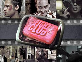Fight Club by vikkifosizzle