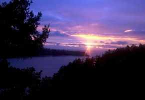 Whidbey Island: Serene Sunset by Photos-By-Michelle
