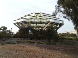 Giesel Library UCSD by Awesomesaucical