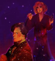 DW: Eleven and River Song by Barukurii