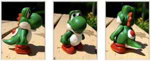 Clay Yoshi by TernFeather