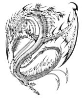 Chinese dragon by gor1ck