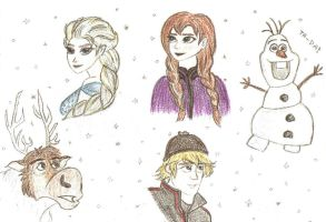 Frozen by csicsus