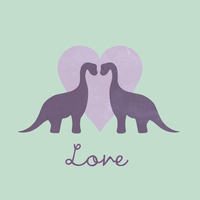 Prehistoric Love - with text by perdita00