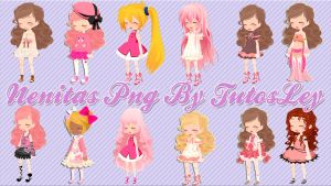 Nenitas png pack 2 by leyfzalley