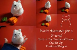 Crochet Hamster for Friend by FeatheredDragon