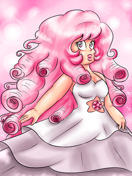 SU| The Mighty Rose Quartz by PearlieDottie