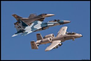 Warfare Center Aircraft II by AirshowDave