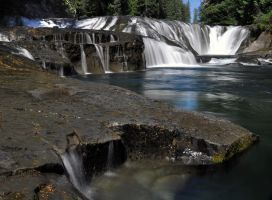 Middle Falls 2 by Tanager