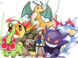 Pokemon Team - Closs by xfiresongx