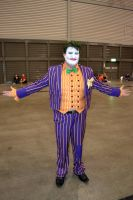 Joker Cosplay at 2015 Sydney Supanova by rbompro1