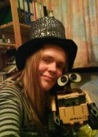Me and my Wall-E:D by Herure
