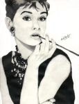 Audrey Hepburn by abdka5