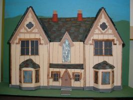 Gothic Pattern House Model by AutobotWonko
