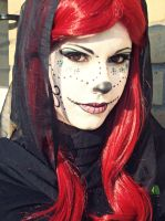 Skelita/ Day of the Dead inspired Make Up by ReiIchi5