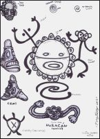TAINO INDIAN SYMBOLS/GODS by Lpsalsaman