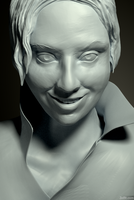 Speedsculpt from photo on /r/redditgetsdrawn by Zelfit