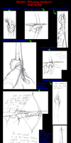 Drawing Archery Poses *EDIT* by Deathcomes4u