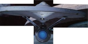 U.S.S. Enterprise by Trekkie313