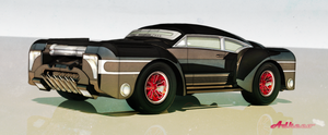 Slick Black front by aconnoll