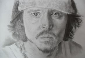 Johnny Depp by TERRIBLEart