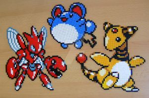 Pokemon sprite bead 3 by Chiki012