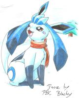 froza the glaceon by pitch-black-crow