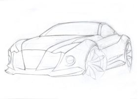 sport coupe-sketch by Morfiuss