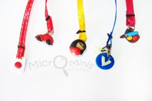 Bookmark Charms by margemagtoto