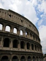 Rome: the Colosseum by bigbirdsinsmallcages