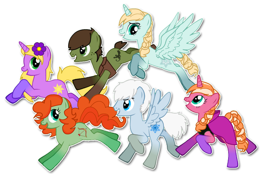 The Mane.. S-Six? by WhatTheFoxBecca