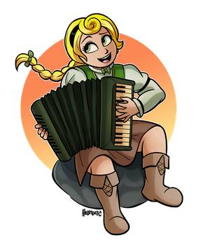 The Bardtender by HELLADELICommissions