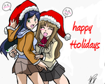 my hime xmas by WolffangComics