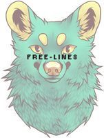 FREE LINES - wolf by 19o1